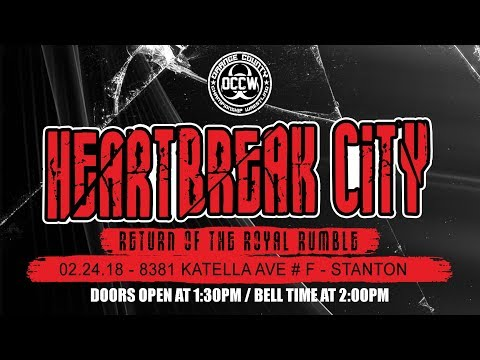 HEARTBREAK CITY RUMBLE 2018