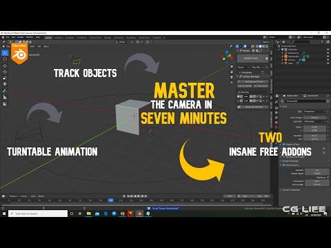 Master The Camera In Seven Minutes | Blender Tutorial