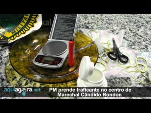 Aquiagora.net - PM prende traficante no centro de Marechal Cândido Rondon