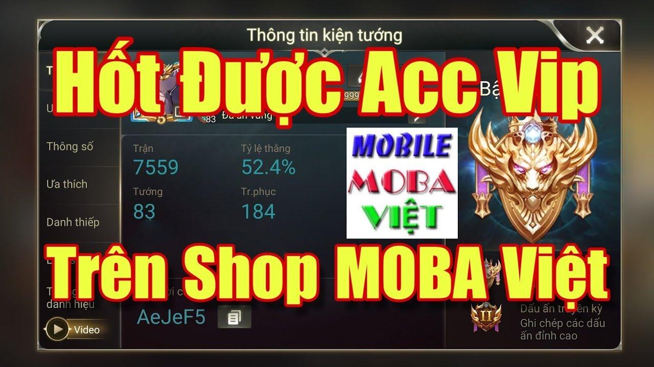 [Gcaothu] Quá sốc khi Gcaothu hốt được acc vip của Moba Việt – Lãi to rồi
