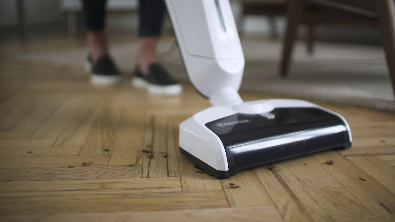 Nettoyez vos sols durs en un seul passage