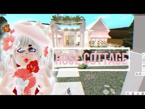 ♡ Bloxburg Speed Builds♡ Rose Cottage ♡ 207k+ ♡ Read Description