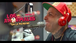 Nicky Jam Improvisando Con Los Anormales Miami Por Mega949 On Fire