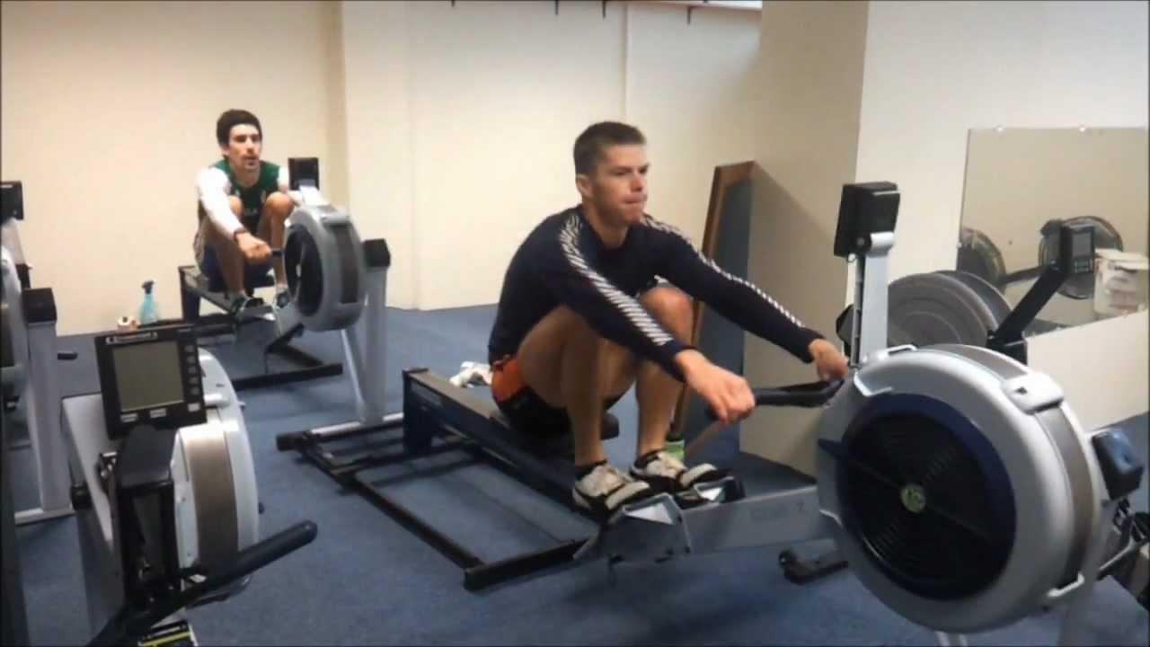 Lightweight Men S 2x Rowing On C2 Erg With Slide Tamas