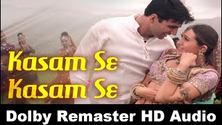 Kasam Se Kasam Se HD 1080p | Karisma Kapoor Songs | Akshay Kumar | Jaanwar Songs | Udit Narayan Song