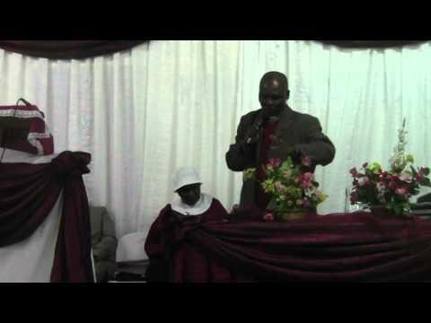 Mother Mhlungu and Rev. F. E. Ndlovu