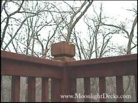 How to wire low voltage deck lights pt 4 drill under rail youtube how to wire low voltage deck lights pt 4 drill under rail aloadofball