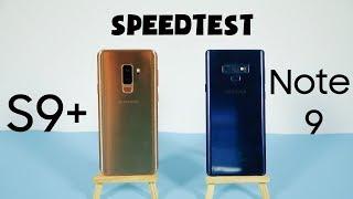Speedtest Galaxy Note 9 và Galaxy S9+ : Đâu mới là smartphone số 1 nhà Sam?