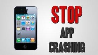 Stop App Crashing | iPhone, iPod Touch, & iPad