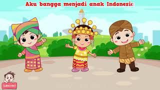 Aku Anak Indonesia | Lagu Nasional | Kompilasi Lagu Anak