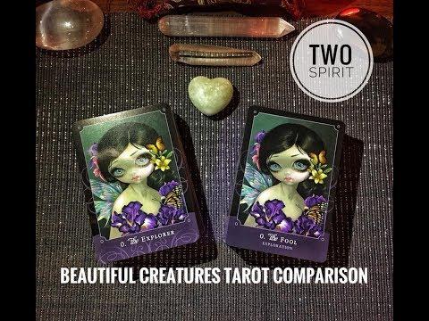 The Beautiful Creatures Tarot - A Comparison