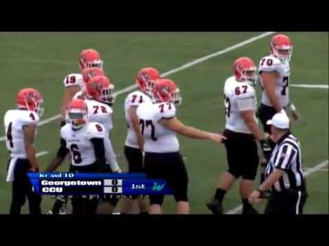 Cincinnati Christian vs Georgetown College Football Game of September 17, 2016