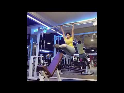 sexy asian girls in yoga pants compilation female fitness motivation body building 3