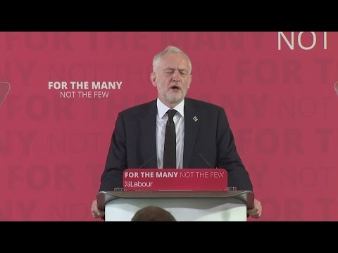 FULL SPEECH: Jeremy Corbyn links British intervention in foreign wars to terrorism at home