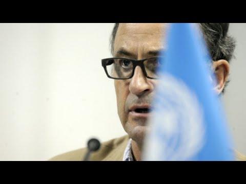 اليمن: إطلاق نار يستهدف موكب رئيس بعثة الأمم المتحدة لمراقبة الهدنة في الحديدة  - 11:55-2019 / 1 / 18