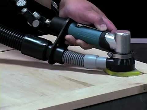 Central Vacuum Dynabrade 58017 Dynafine Detail Sander