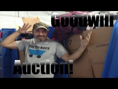 Bin Pickers- Goodwill Outlet Bin Auction in Long Beach