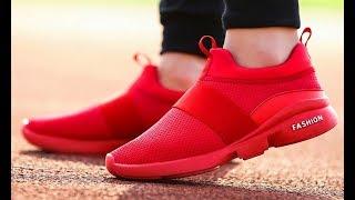 Мужские и женские дышащие кроссовки из сетчатого материала Men s and women s breathable mesh sneaker