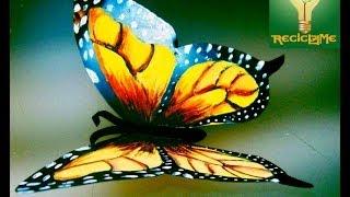 cómo crear mariposas de lata aluminio♥ thumbnail