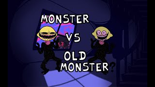 Friday Night Funkin' - Monster but Old Monster wants to battle!