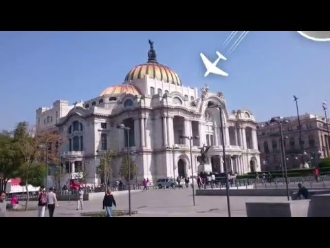 Solo travel Mexico travel Vlog - Day 11 city center zocalo tour