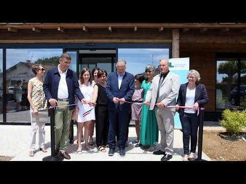 Inauguration du Centre médico-social de Morcenx-La-Nouvelle