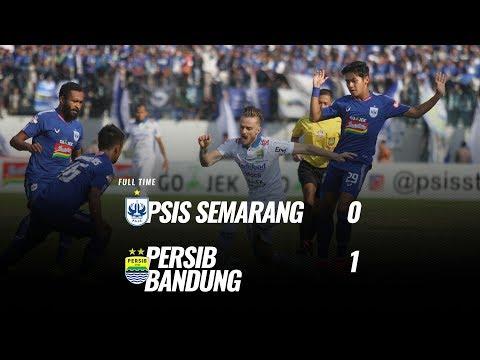 [Pekan 10] Cuplikan Pertandingan PSIS Semarang vs Persib Bandung, 21 Juli 2019