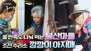 """[김영철의 동네 한 바퀴] 피란민들의 고향 봉산마을의 추석맞이 & 수리 조선소 '깡깡이 아지매' """"애…"""