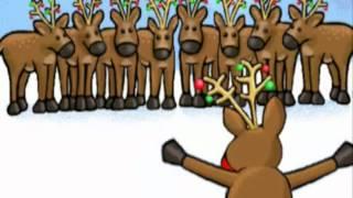 Renifery Śpiewają na Święta