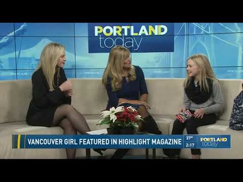 Vancouver girl featured in Highlight Magazine