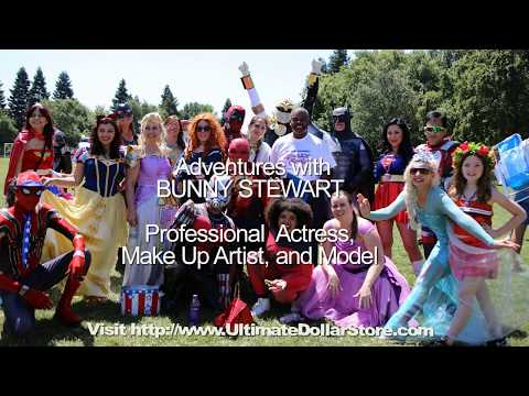 ULTIMATE DOLLAR STORE ONLINE | With Actress MUA Model Bunny Stewart Dollar Tree Like Savings
