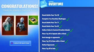 "*NEW* How to Get ""FREE OVERTIME SKINS"" in Fortnite! FREE OVERTIME CHALLENGES (Overtime Challenges)"