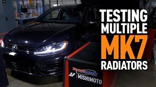homepage tile video photo for 2015+ Volkswagen GTI Mk7 Radiator Testing