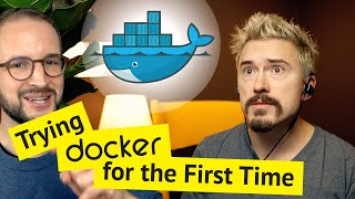 Trying Docker for the First Time 📖 Many Learnings!