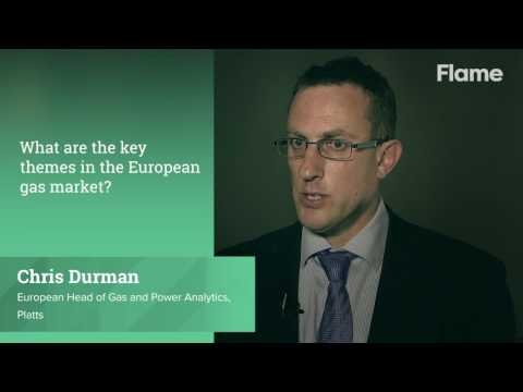 What are the key themes in the European gas market today?