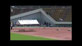 2010.9.26 陸上中学女子1500m 日本中学新記録 4′19″46