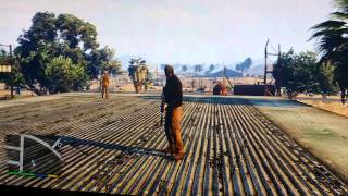 "GTA 5 PS4 Unreal STORY LINES #2 ""Watch Out Cletus"""