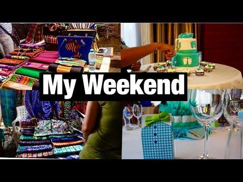 Liberia Vlog  : BABY SHOWER, MONROVIA POPUP SHOP, STREET TOUR