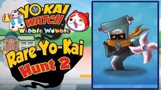 Yo-Kai Watch Wibble Wobble - Rare Yo-Kai Hunt 2 | Nul, Tunatic, Auntie Heart, & Statiking!