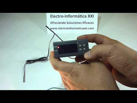 Conectar Y Programar Termostato Digital Programable MH1210A para Incubadoras, Nacedoras, Terrarios