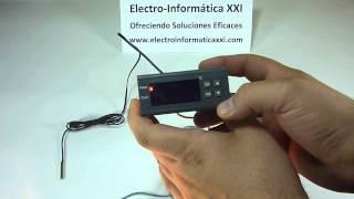 CONECTAR Y PROGRAMAR ⚡Termostato⚡ Digital Programable MH1210A para Incubadoras, Nacedoras, Terrarios