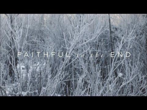 Faithful To The End (Official Lyric Video) - Paul & Hannah McClure | Have It All