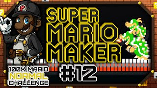100x Mario Challenge - NORMAL COURSES | Super Mario Maker #12 (Let's Play Wii U Gameplay)