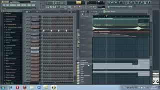 FL Studio 10 & FL-RECORDS - Hard Inna Style (HD)