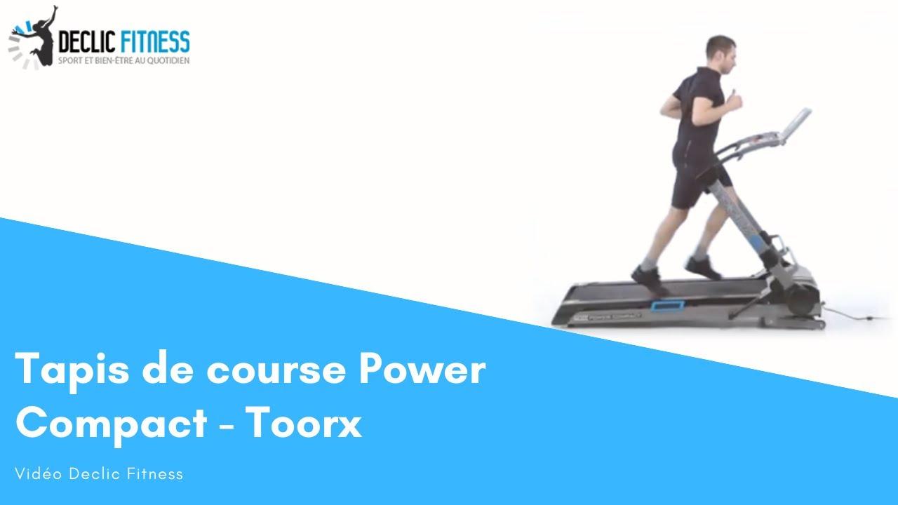 tapis de course power compact declic fitness