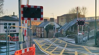 The Brand New East Farleigh Level Crossing! (First Day of Operation)