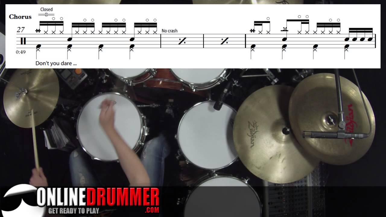 Shut Up and Dance - Walk The Moon - Drum Sheet Music