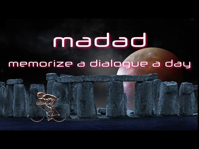 MADAD4US03#02: Memorize a Dialogue a Day (for University Students)