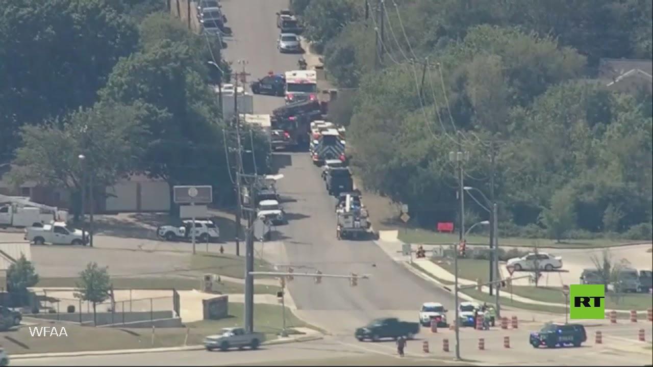 أول لقطات من مكان تحطم طائرة عسكرية في ولاية تكساس الأمريكية  - نشر قبل 10 ساعة