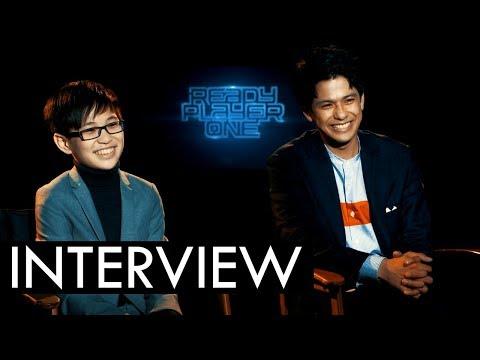 READY PLAYER ONE Interviews: Win Morisaki & Philip Zhao